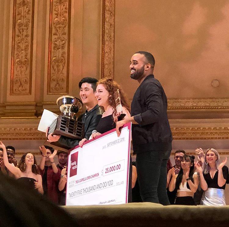 AcaOpen 2018 - Iris Accepts Prize