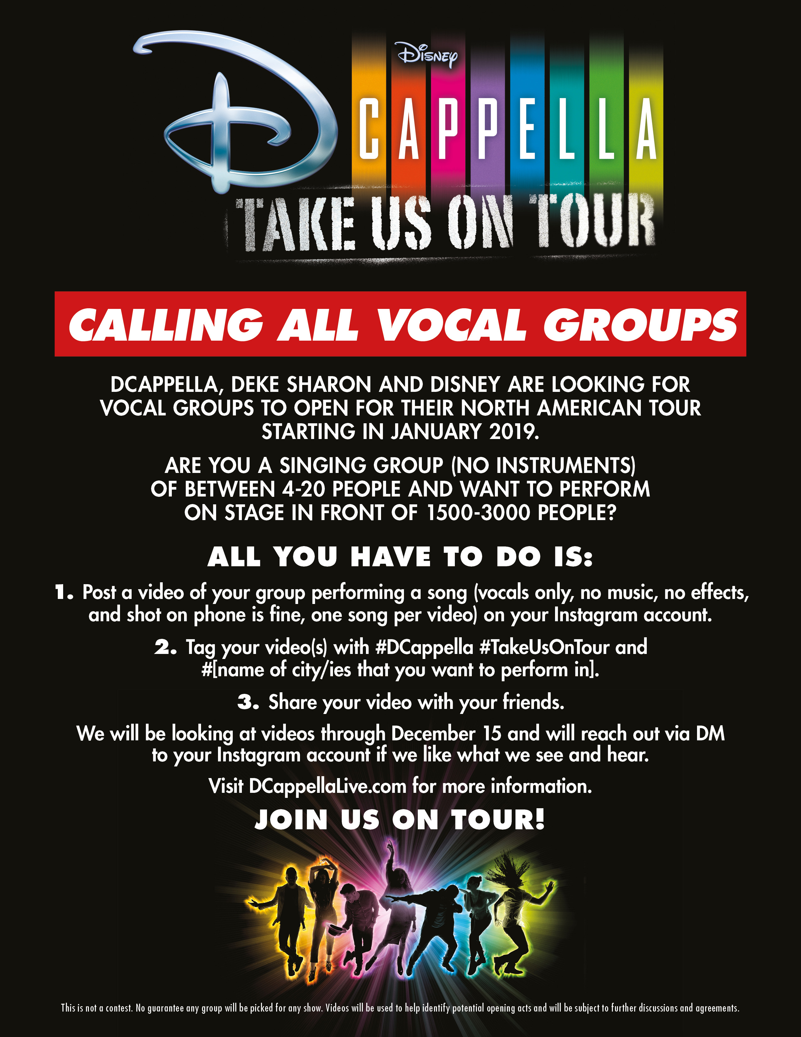 New DCappella Album PLUS a Chance to Open For The Tour