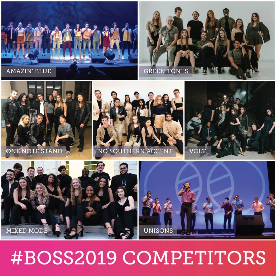 BOSS 2019 Competitors