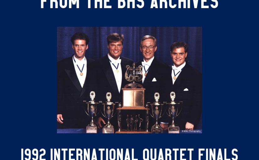 1992 BHS International Quartet Finals on Friday Night Live