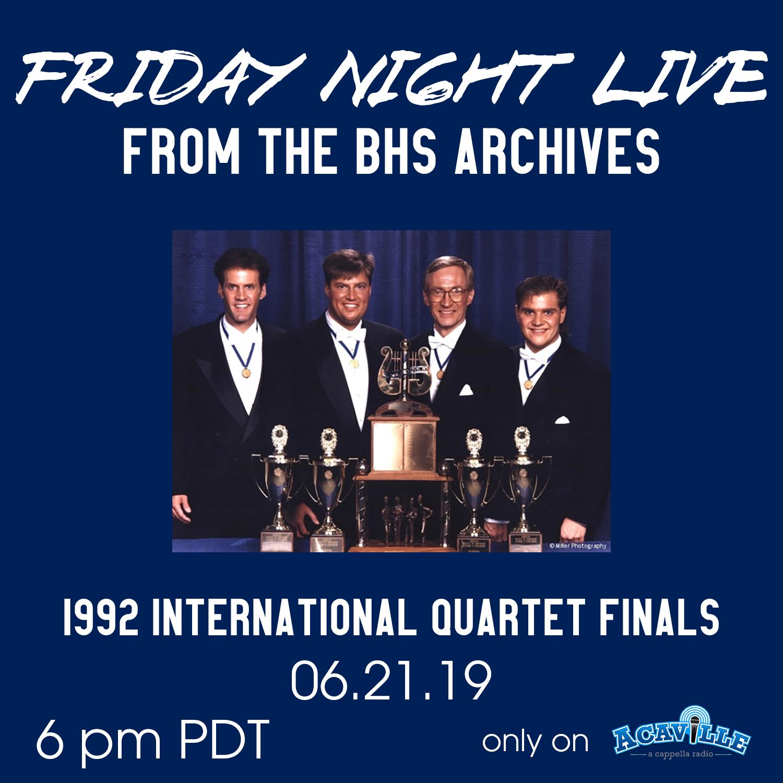 FNL - 1992 Quartet Finals
