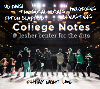 College Notes 2019 on Friday Night Live