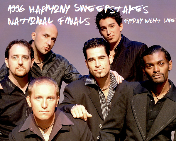 Friday Night Live Features the 1996 Harmony Sweeps Finals