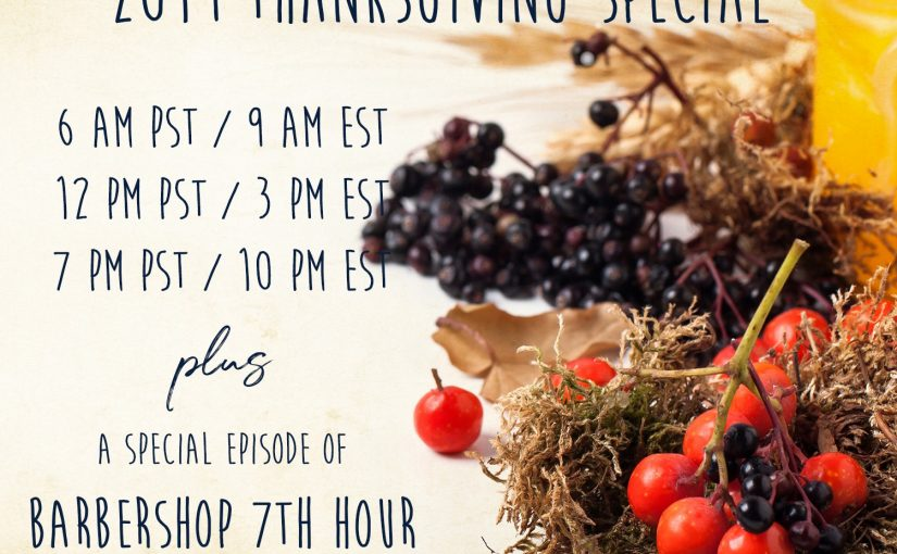 2019 Thanksgiving Special