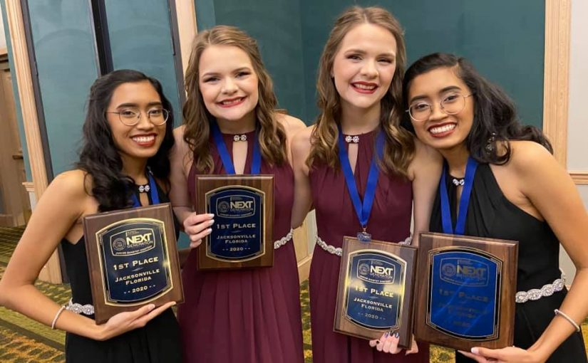 Singing Double Wins NextGen Junior Quartet Contest