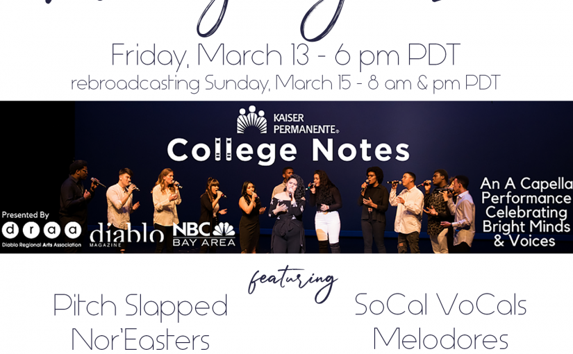 Friday Night Live – College Notes 2020