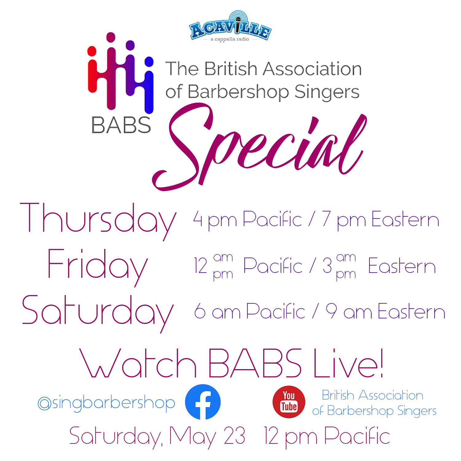 2020 BABS Live! Special