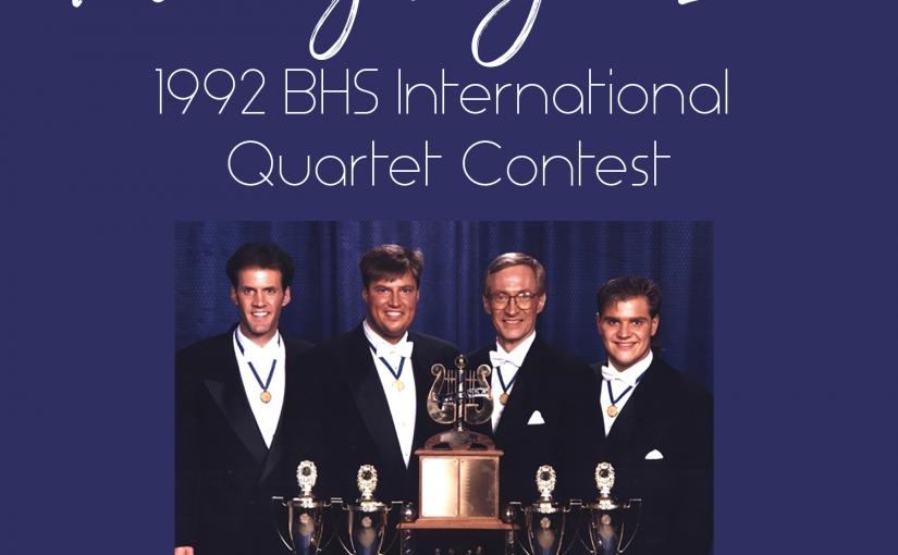 Friday Night Live – 1992 BHS Quartet Finals
