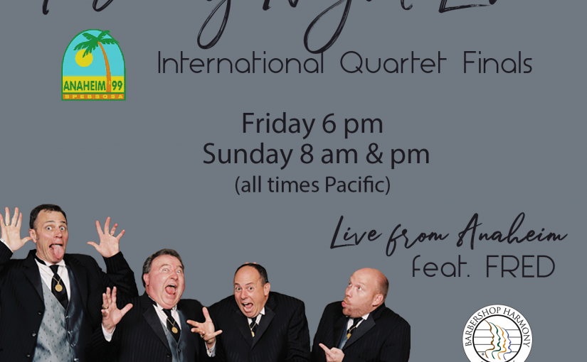 Friday Night Live – 1999 BHS International Quartet Finalists