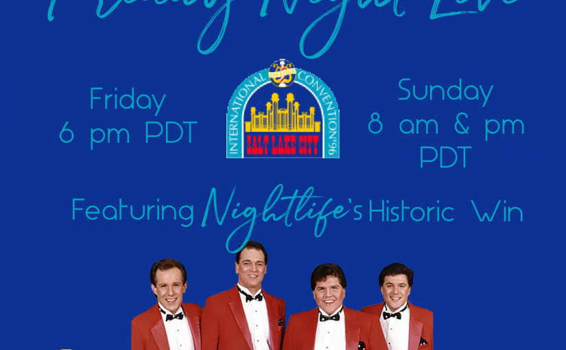 Friday Night Live – 1996 BHS Quartet Finals