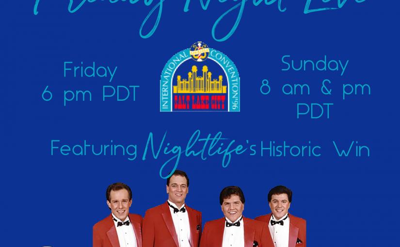 FNL 1996 BHS Quartet Finals
